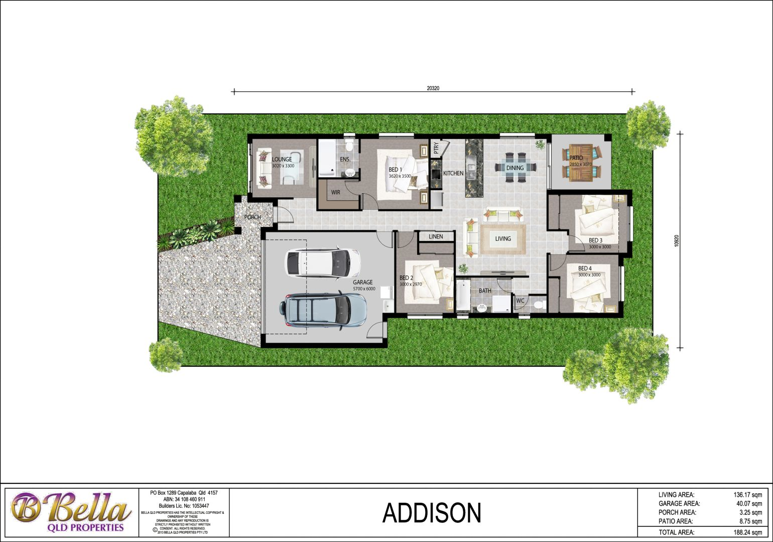 Rosewood Green - BellaQLD Lot 42 Addison Plan