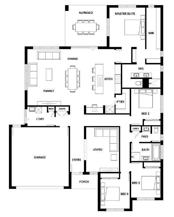 Rosewood Green - Lot 26 - Hotondo Hume 263 Plan