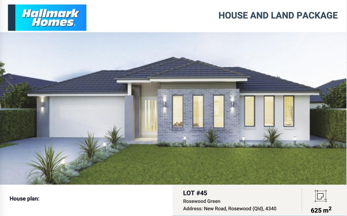Rosewood Green - Vista 245 - Hallmark Homes